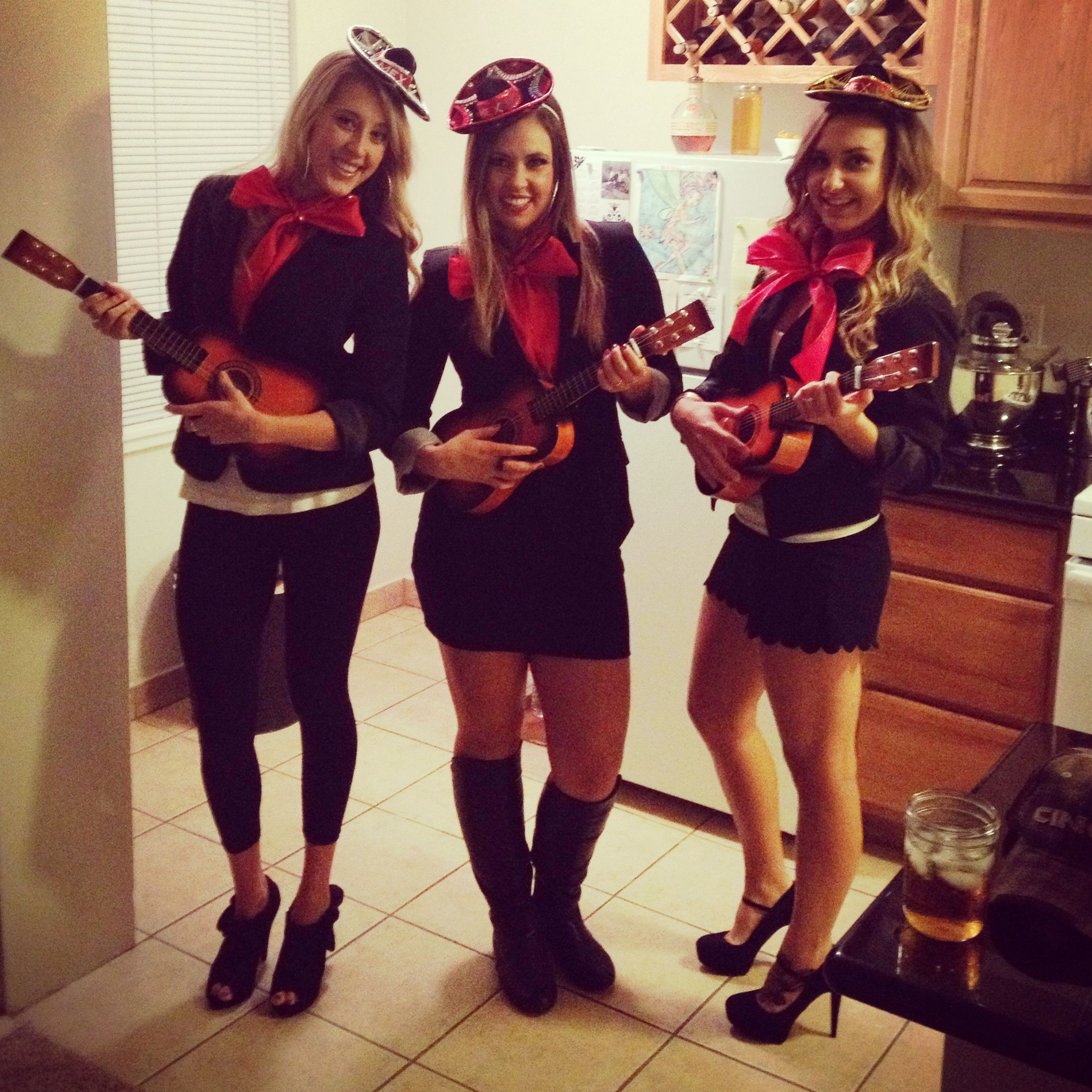 homemade mariachi halloween costumes - Band Halloween Costumes