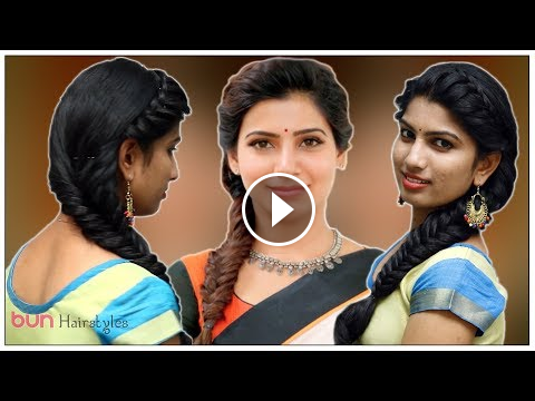 Quick Party Hairstyles Actress Samantha Inspired Hairstyles Bun