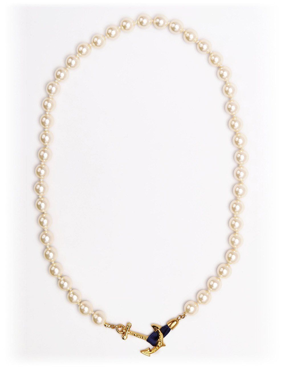 ef8e35da9cdcec Valerie Pearl Anchor Necklace by Kiel James Patrick | Products