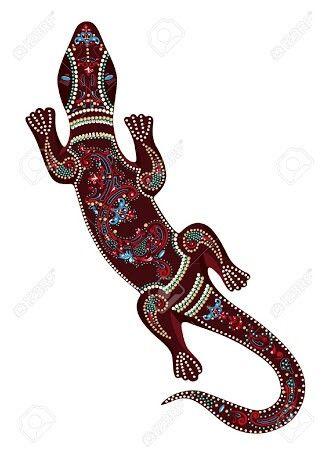 Aboriginal lizard | Geckos | Pinterest