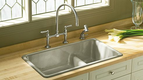 Iron Tones Sink By Kohler With Images Kitchen Remodel Sink