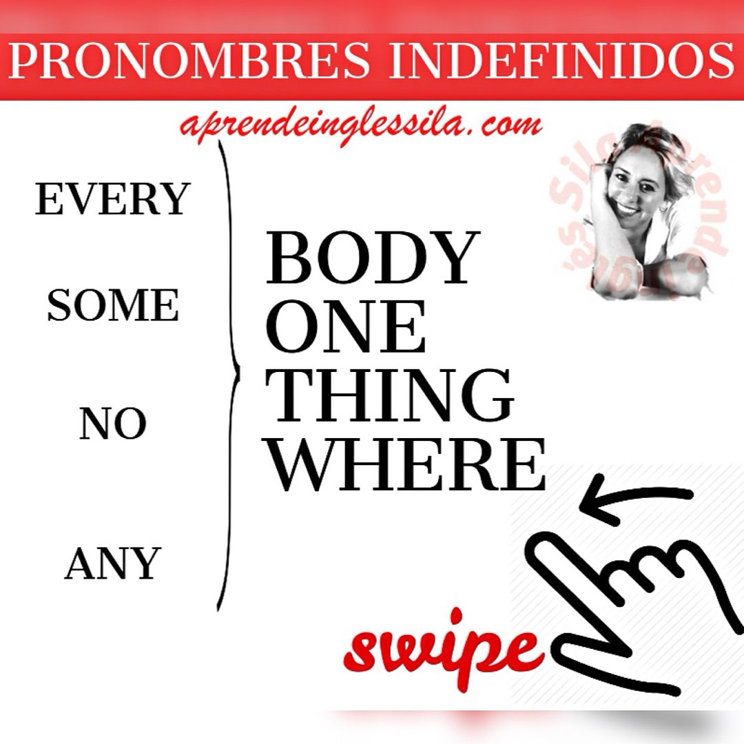 PRONOMBRES INDEFINIDOS EN INGLÉS CON 'every, 'some', 'no' y