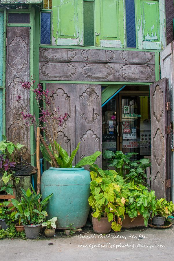 Wabi Sabi Thailand Portes Les Fenetres Jardin De La Fenetre