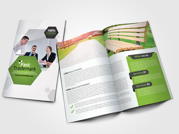 8 Pages Business Bi Fold Brochure @creativework247 Brochure - flyers and brochures templates
