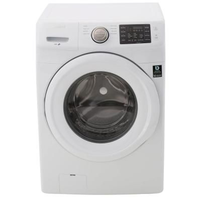 Samsung 4.2 cu. ft. High-Efficiency Front Load Washer in White, ENERGY STAR-WF42H5000AW - The Home Depot $499.00 (38%)