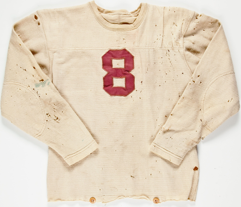 1941 Sam Sharpe Game Worn Alabama Crimson Tide Jersey