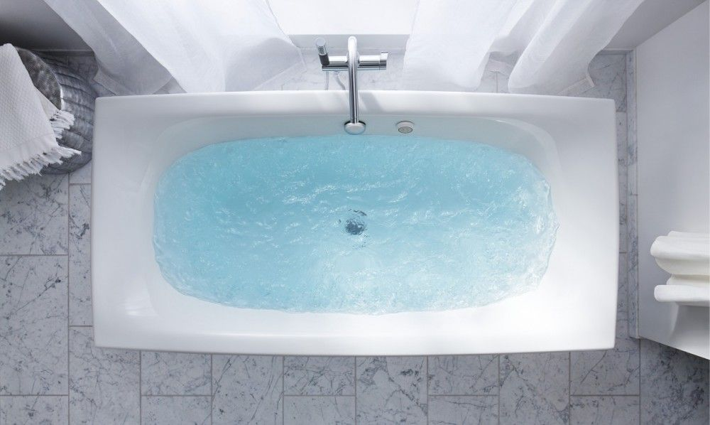 Kohler Escale Freestanding Bath Also Available As An Inset With Spa Options