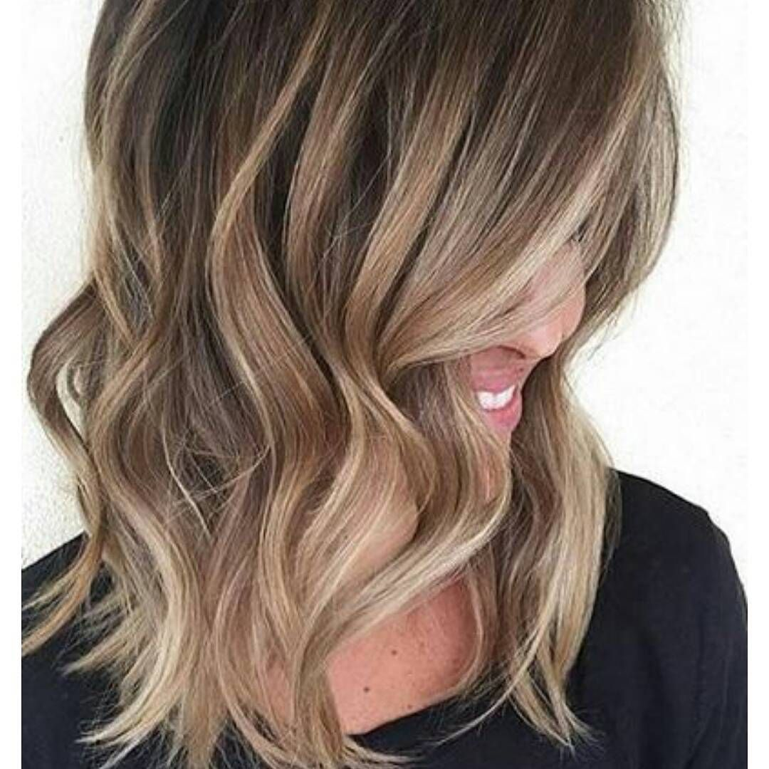 This is the one bob Pinterest Baylage Hair coloring and