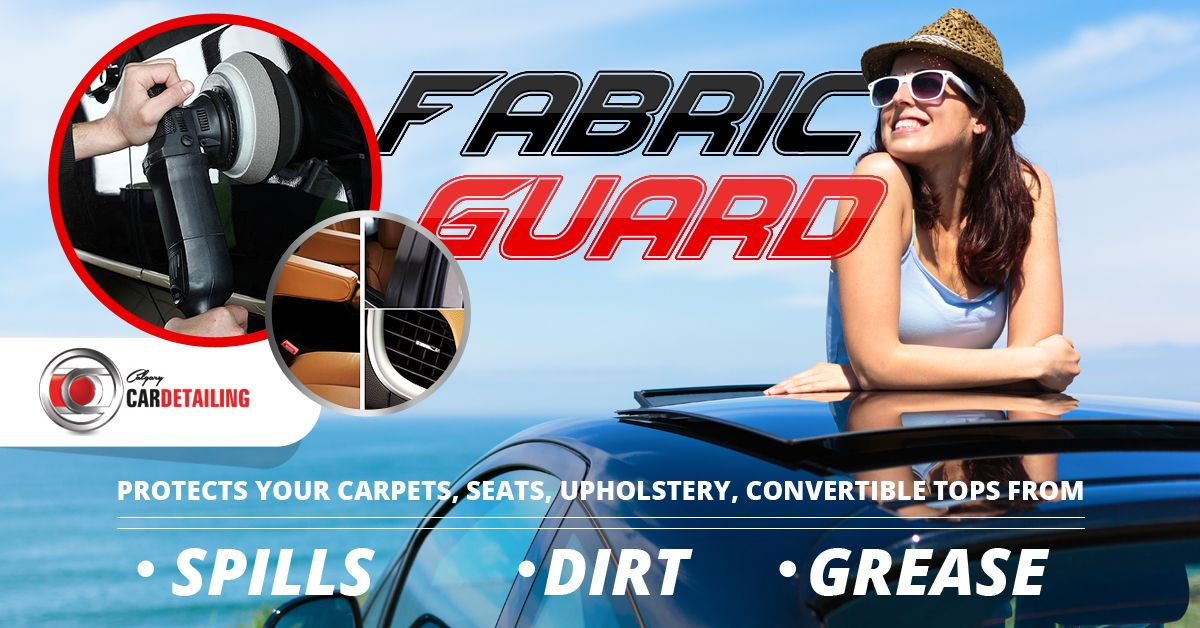 This high quality Fabric Guard solution is designed to