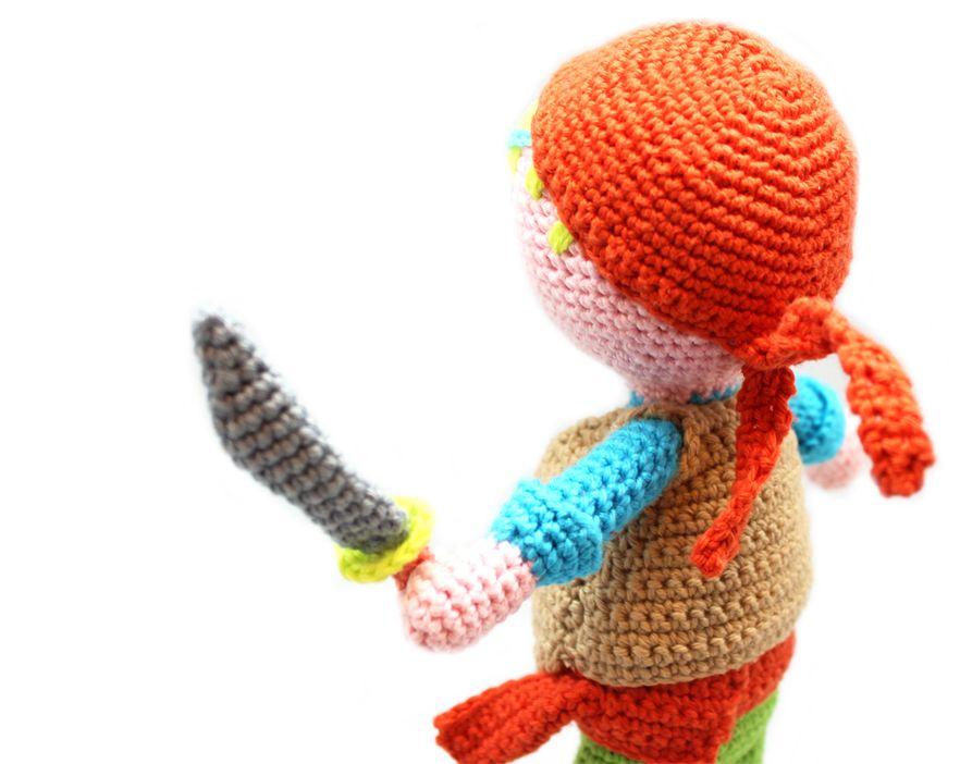 Puppe häkeln: Pirat Teun | Pinterest | Häkelanleitung, Puppe und Häkeln