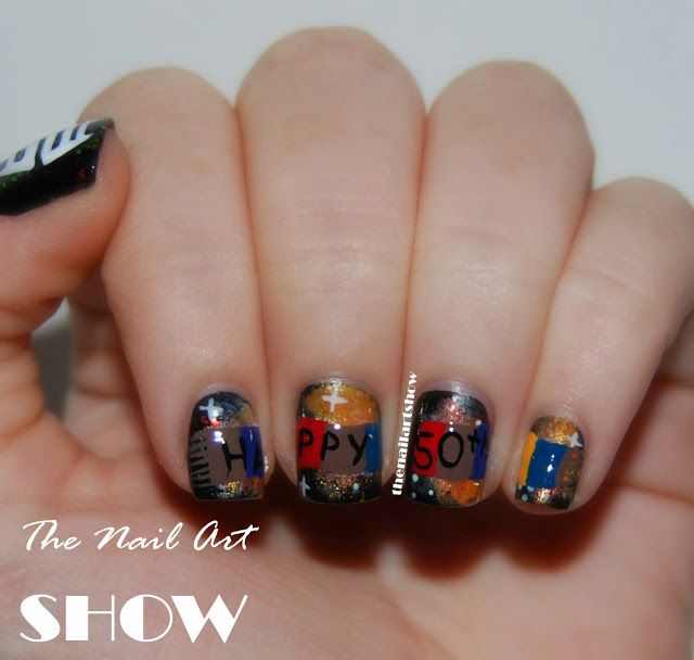 The nail art show the day of the doctor nail me inspo by the nail art show the day of the doctor prinsesfo Image collections