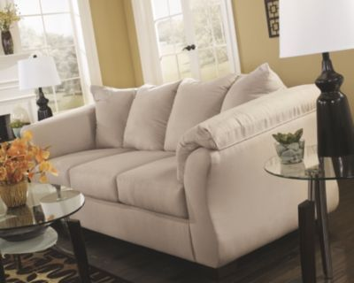 Tan Darcy Sofa By Ashley Homestore Polyester 100 Furniture