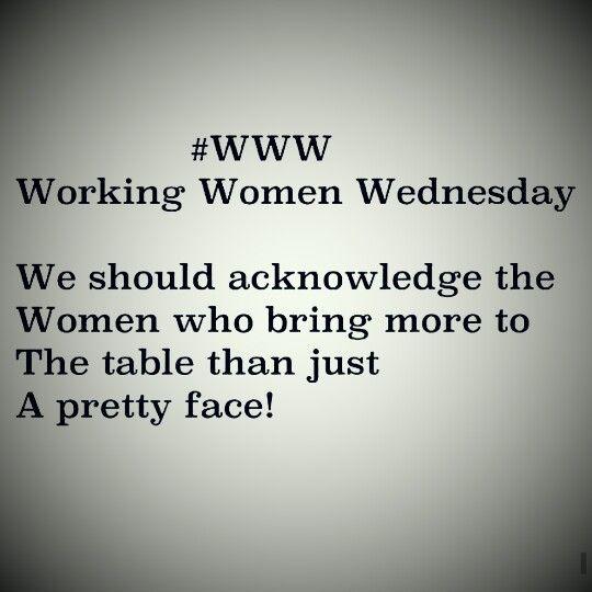 Working Women Wednesday