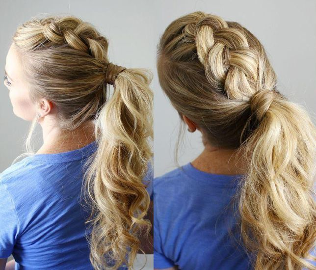 Easy School Hairstyles For Long And Thick Hair Hair Styles Easy Hairstyles Stylish Hair