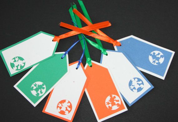 Mickey Mouse Gift Tags Set of 6 by SprinkleandSparkle on Etsy