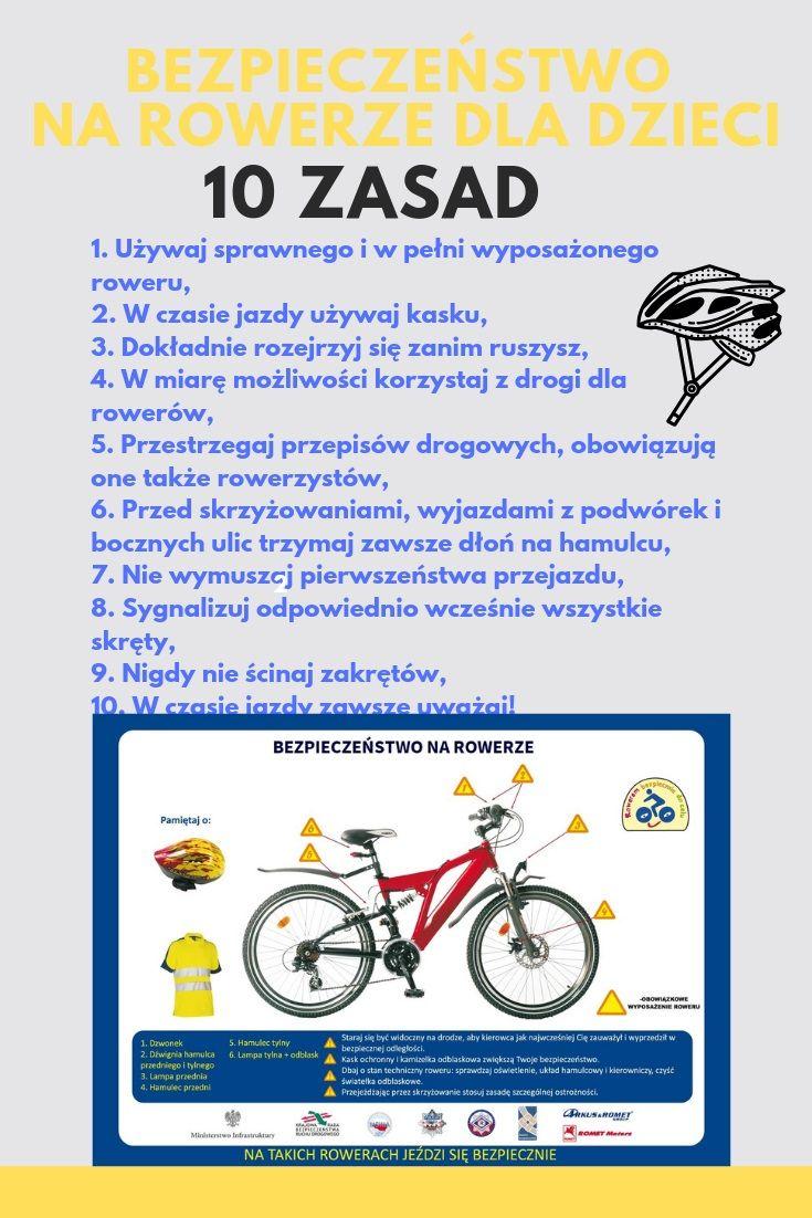 Opis Zasad Bezpieczenstwa Na Rowerze 10 Zasad Bezpieczenstwa