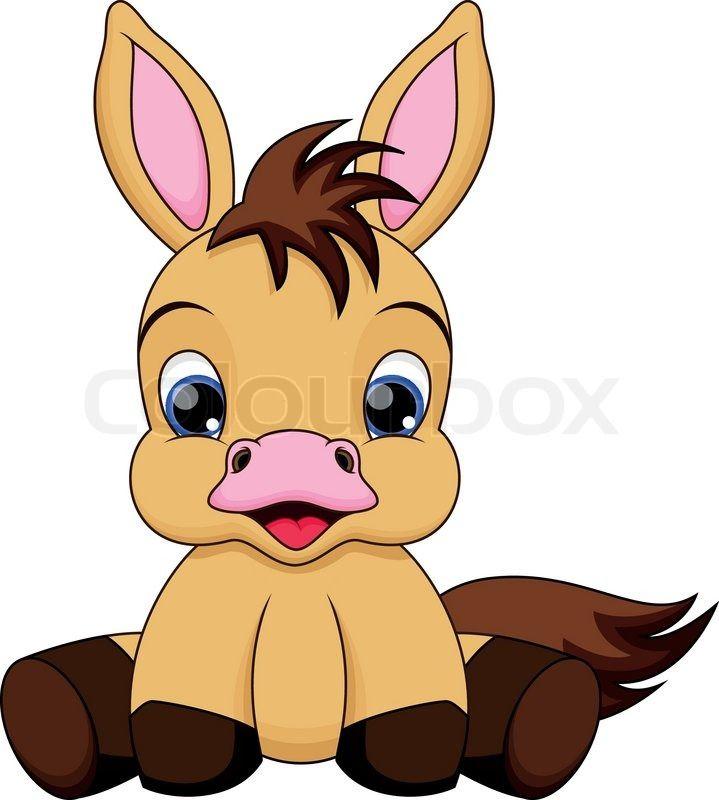 Cute Baby Horse Cartoon Pesquisa Google Horse Cartoon Cute Baby Horses Cute Baby Cow