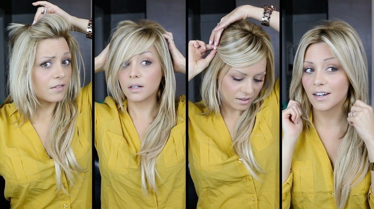 Diy Haircut Long Layers Unique Diy Perfect Bangs 15 Ways Tutorial ...