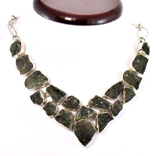 Moldavite necklace