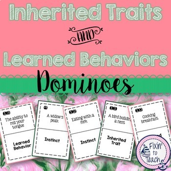 Inherited Traits Learned Behaviors And Instincts Dominoes