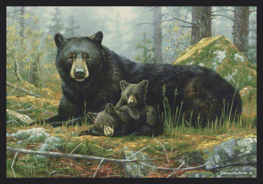 Lodge Bear Rugs Bear Cabin Rugs Lodge Theme Black