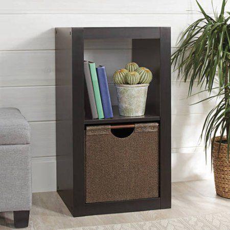 45a33fa199b7a257b11436d428787463 - Better Homes And Gardens 2 Cube Organizer Espresso