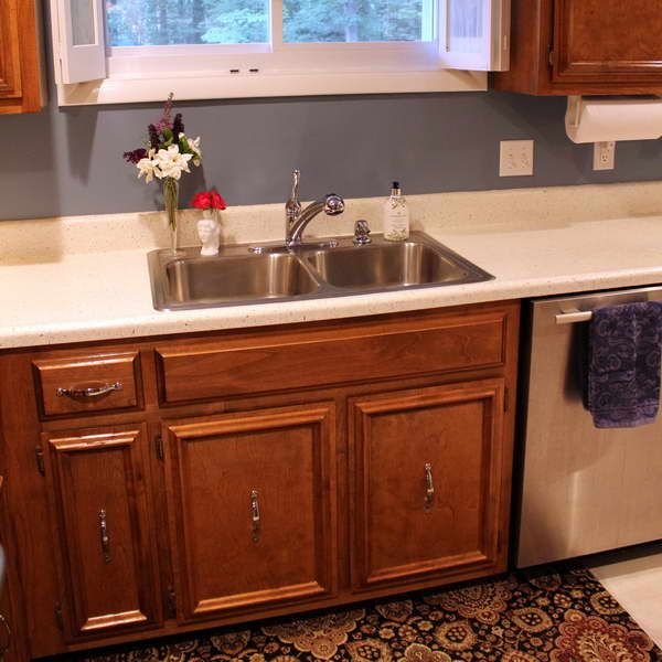 Shaws Farm Kitchen Sink With Grey Walls | Home Decorations ...