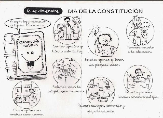 Maestra De Primaria La Constitucion Espanola Para Ninos Constitucion Para Ninos Dia De La Constitucion Constitucion Mexicana Para Ninos