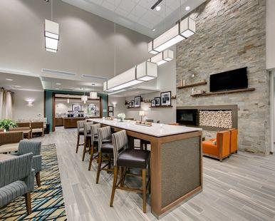 Hampton Inn Suites North Houston Spring Hotel Tx Lobby