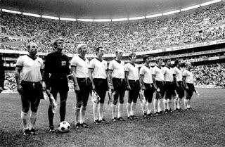 EQUIPOS DE FÚTBOL: SELECCIÓN DE ALEMANIA FEDERAL en el Mundial 1970