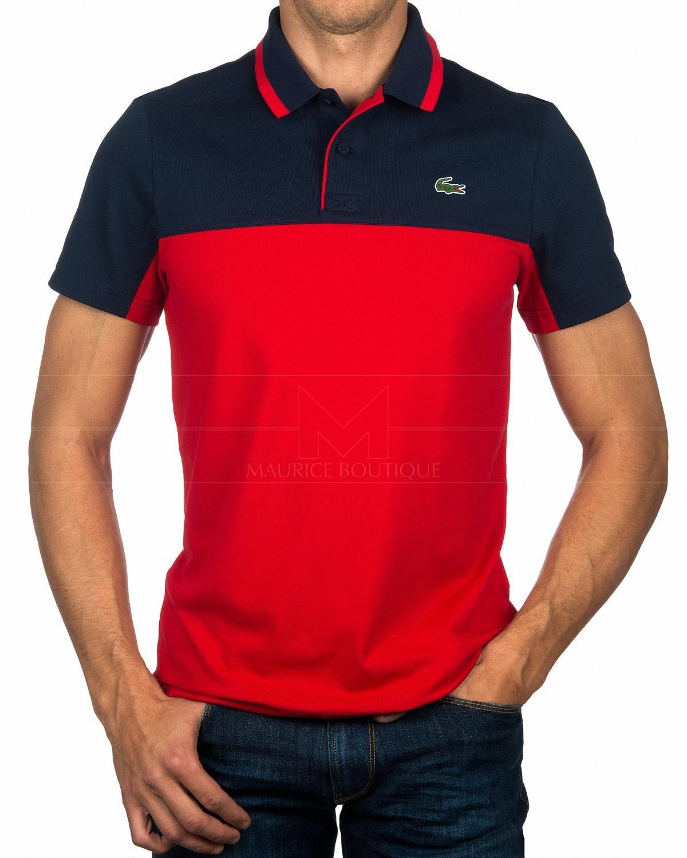 8f37dd68553 Polo Lacoste Roland Garros - Naranja y Blanco en 2019 | Shirts ...