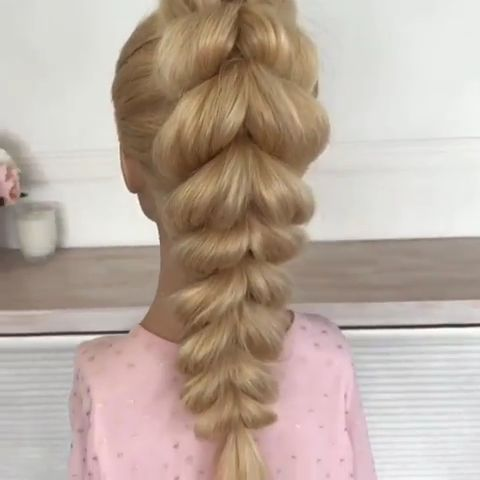 Pull Through Braid Tutorial  Hairstyles