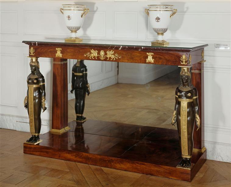 Console ornée de figures égyptiennes, Grand Trianon