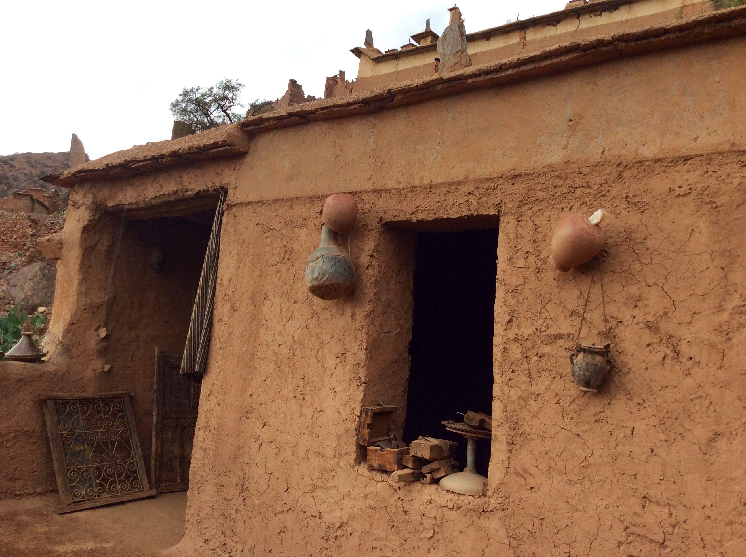 la maison traditionnelle oumesnat maroc ventana blog. Black Bedroom Furniture Sets. Home Design Ideas