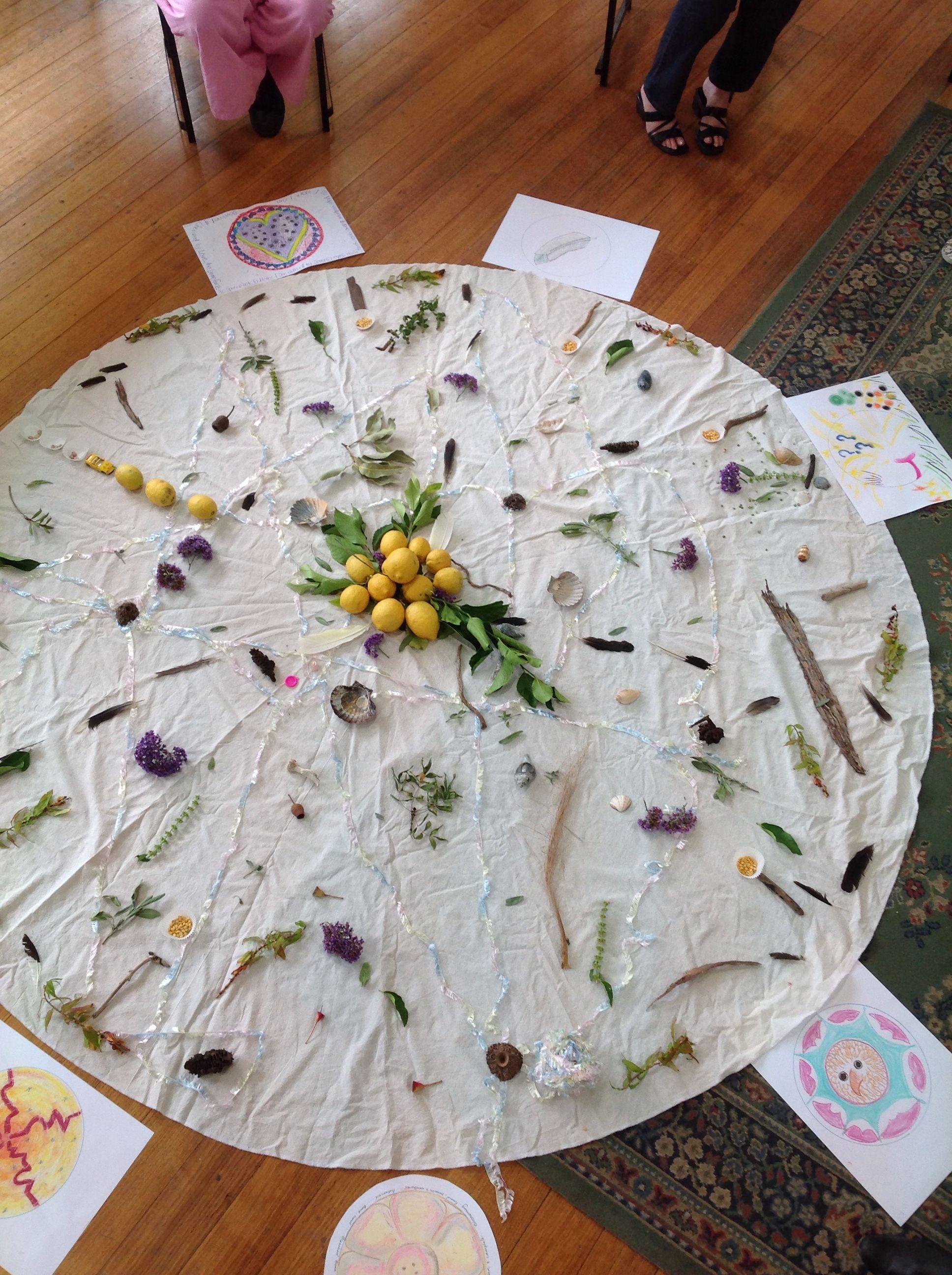 Art Therapy Group Mandala