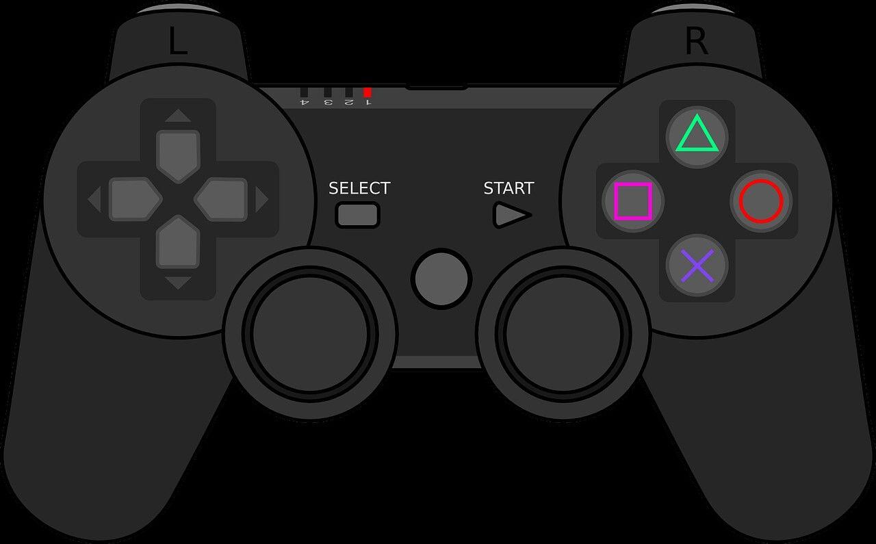 Render Dualshock 3 2D
