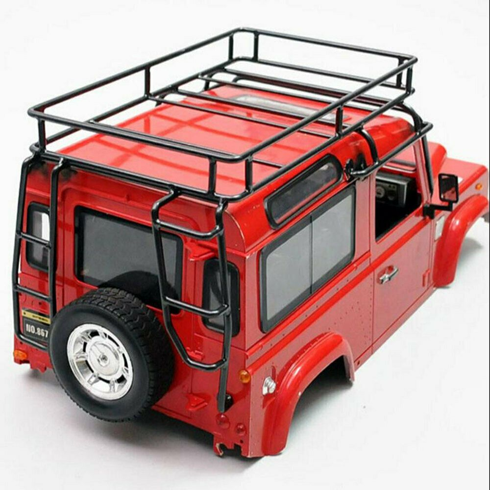 1 10 Rc Car Roof Luggage Rack Carrier For Rc Crawler D90 Scx10 Jeep Defender Ebay In 2020 Roof Rack Cheap Patio Cheap Patio Floor Ideas