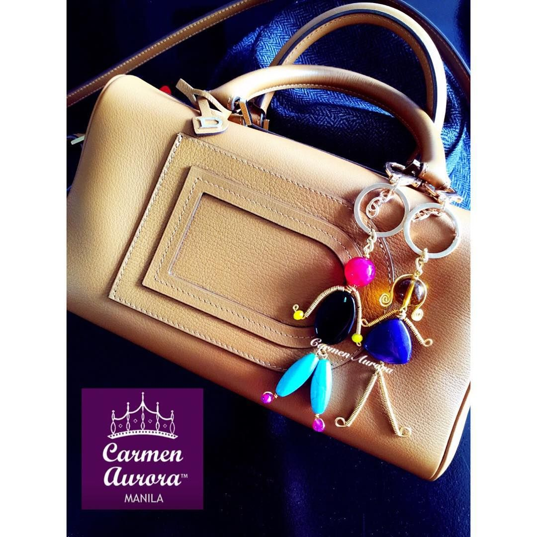 99d13d10 CARMEN AURORA's bespoke, handcrafted, wired, whimsical bag charms in ...