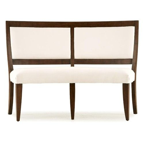 Curved Back Dining Room Bench: Dining Benches With Backs Upholstered For Round Table