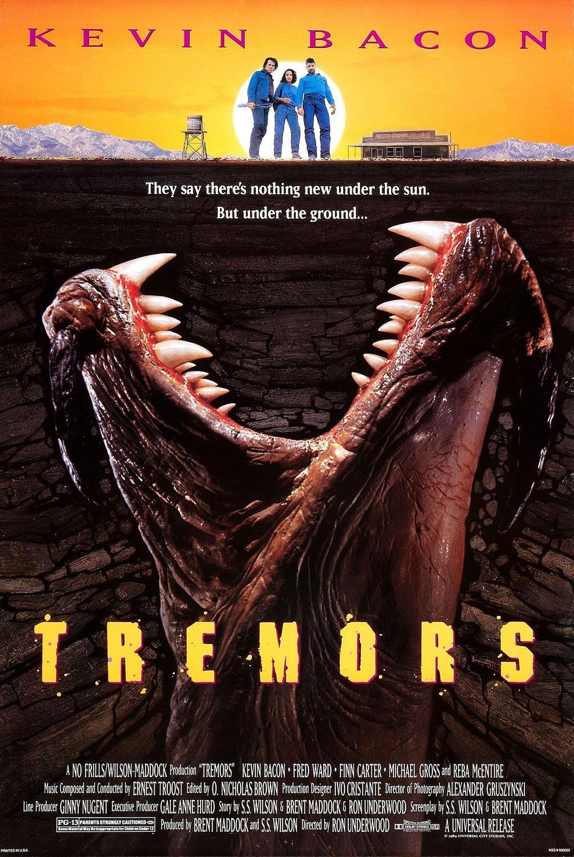 Tremors So Love This Movie Cartazes De Filmes De Terror