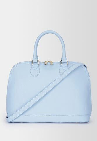 Danier Baby Blue Leather Handbag