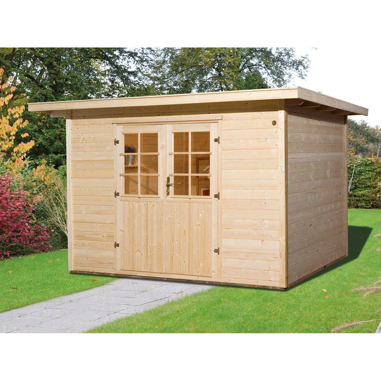 Weka Taro C fa kerti ház, 295 cm x 300 cm Gartenhaus