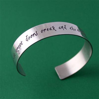 Love:) Grim Grinning Ghosts Cuff Bracelet - Spiffing Jewelry
