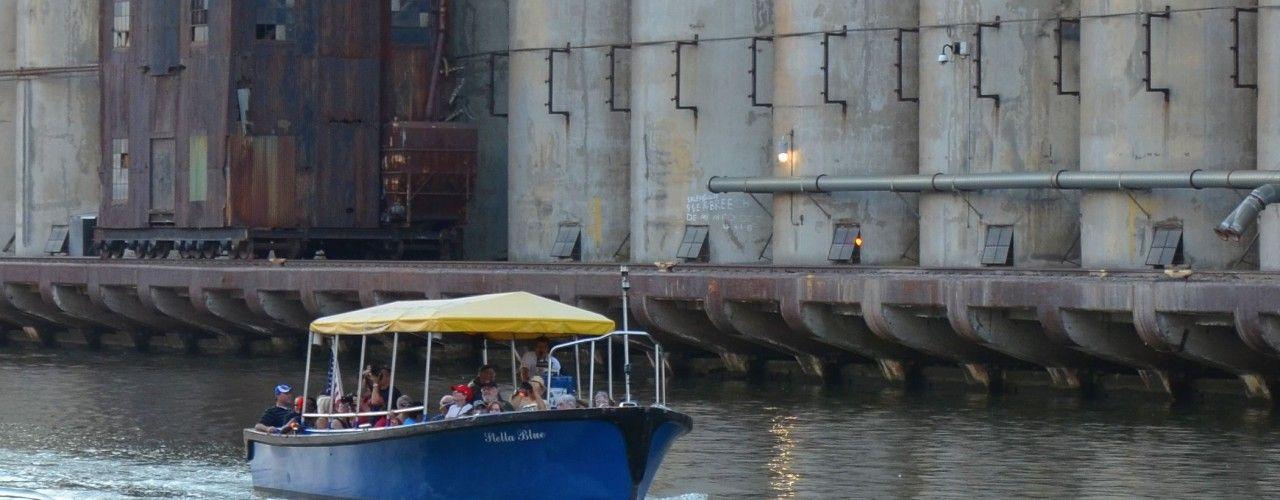 Buffalo Water Taxi for City of Night Buffalo