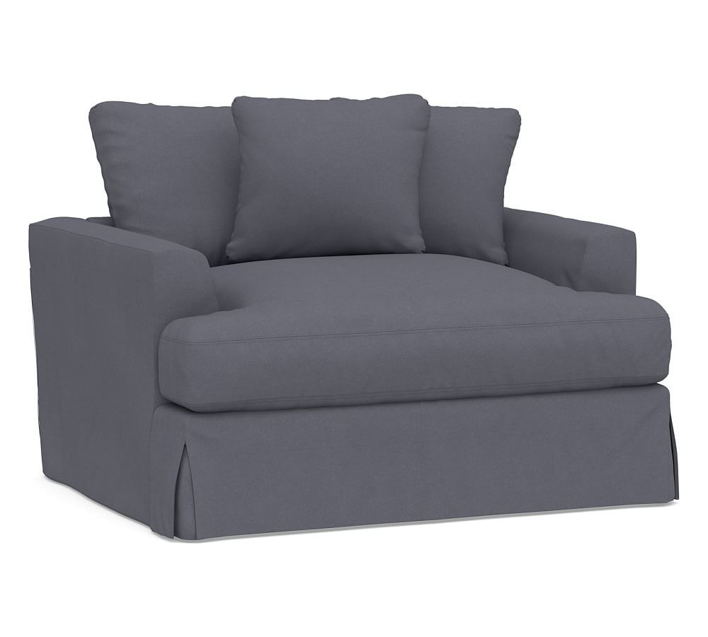 Best Sullivan Fin Arm Deep Seat Slipcovered Chair And A Half 400 x 300