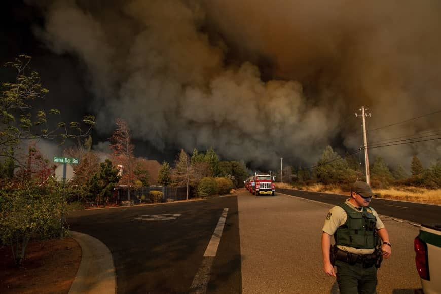 Article Expired Paradise California California Wildfires