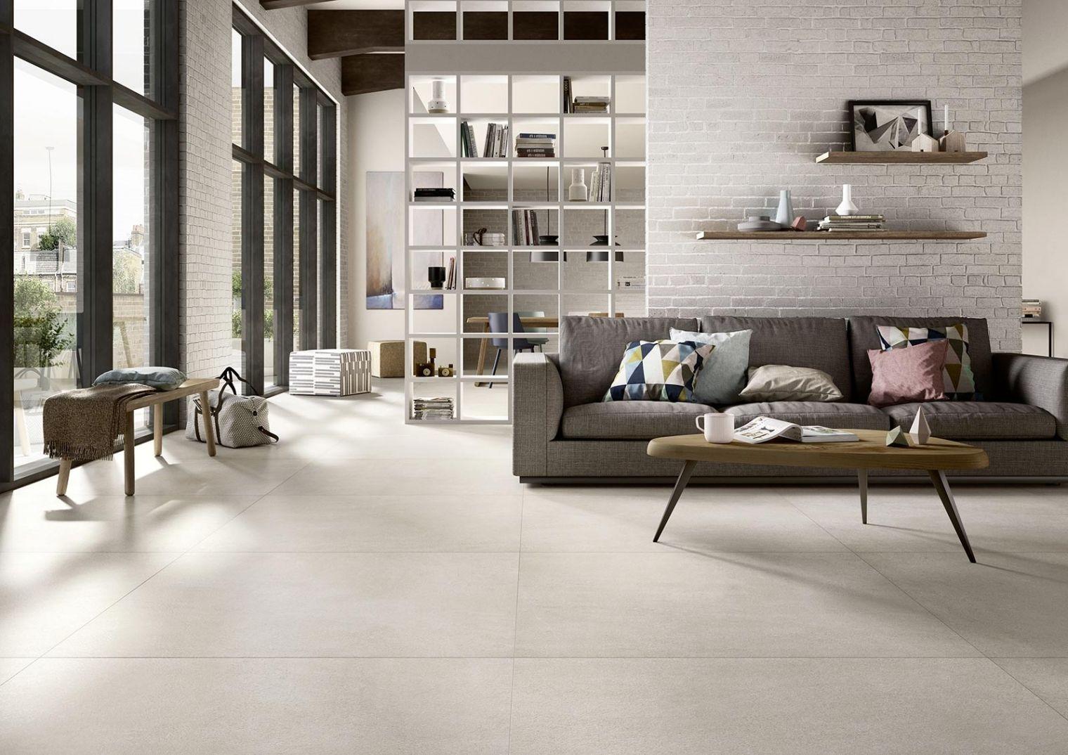 Bemerkenswert Wohnzimmer Fliesen Beste Wahl Einzigartig Weiss