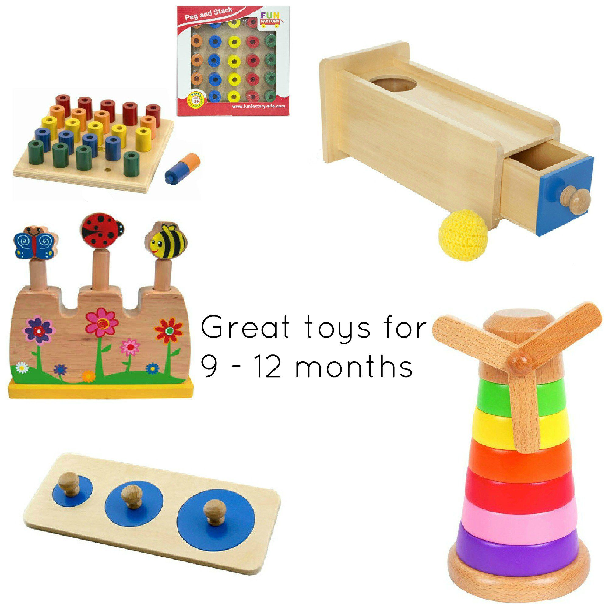 Toy re mendations for a 9 12 month old