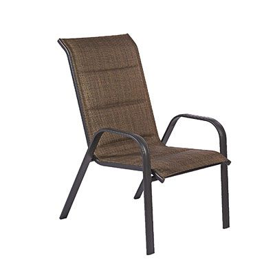 Wilson Amp Fisher 174 Oversized Padded Sling Stack Chair At Big
