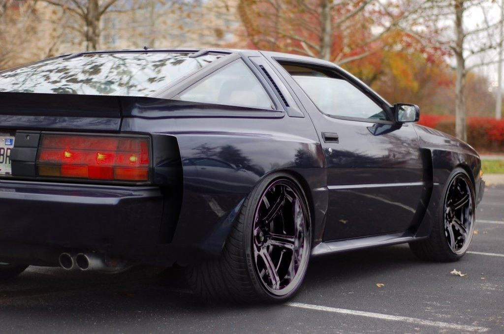 Car 1982 To 1988 Mitsubishi Starion 89 Stanced Chrysler